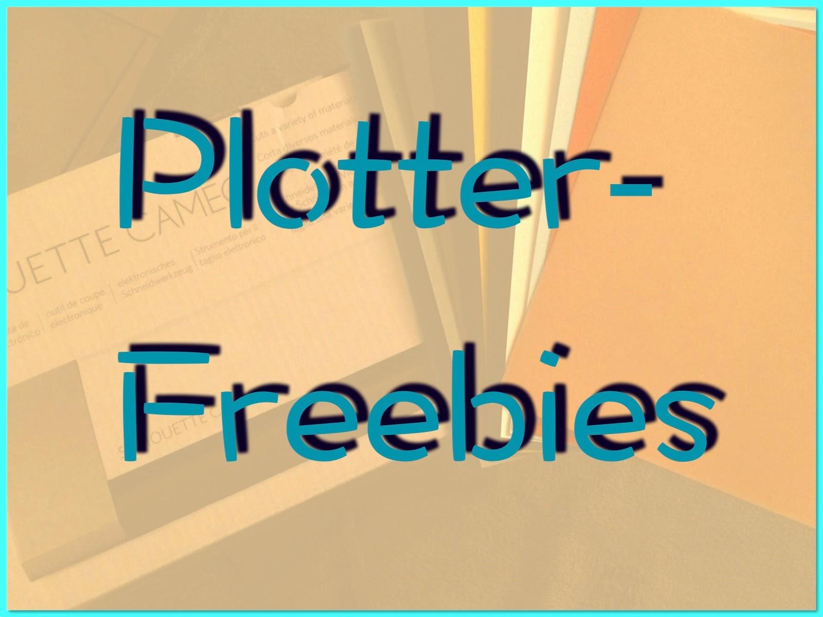 Plotter Freebies - eine kleine Sammlung
