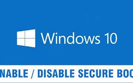 Cara Mengaktifkan atau Menonaktifkan Secure Boot di Windows 10