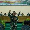Dankodiklat TNI AD melaksanakan Kunker ke Rindam XIV/Hasanuddin