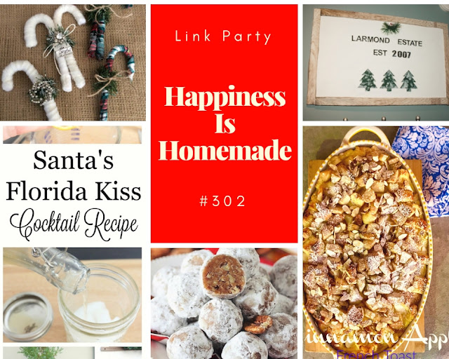 Happiness Is Homemade. Share NOW.#linkyparty #HIH #happinessishomemade #eclecticredbarn