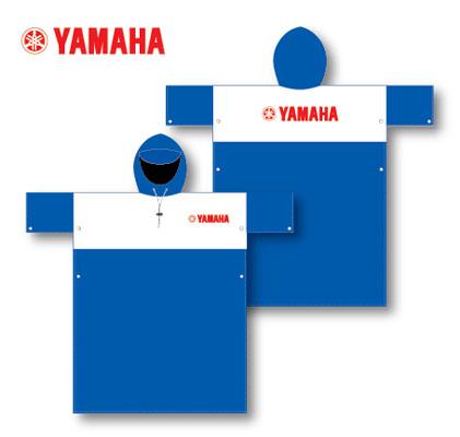 Áo mưa in logo quảng cáo Yamaha
