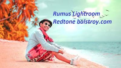 rumus red tone lightroom terbaru