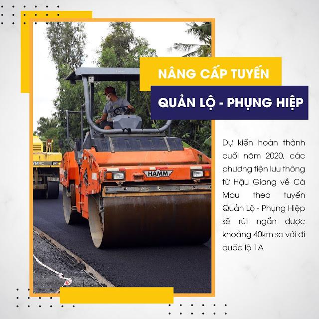 Các công trình giao thông giúp bất động sản Cà Mau tỏa sáng