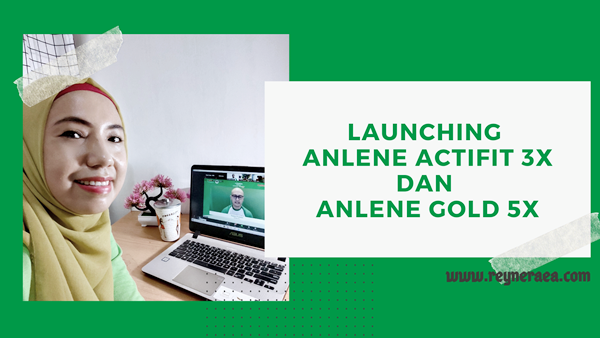 Launching Anlene Actifit 3X dan Anlene Gold 5X