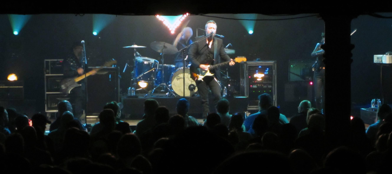 Jason Isbell & The 400 Unit performing at the Ryman Auditorium