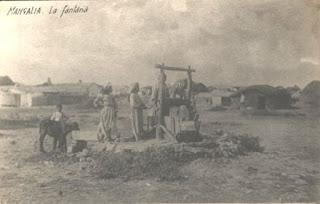 Mangalia – la fântână, în vestul așezării, în cartierul tătăresc. Prima jumătate a secolului al XX-lea