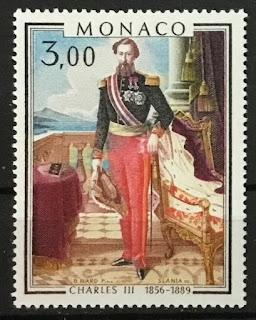 Charles III, Prince of Monaco Painting
