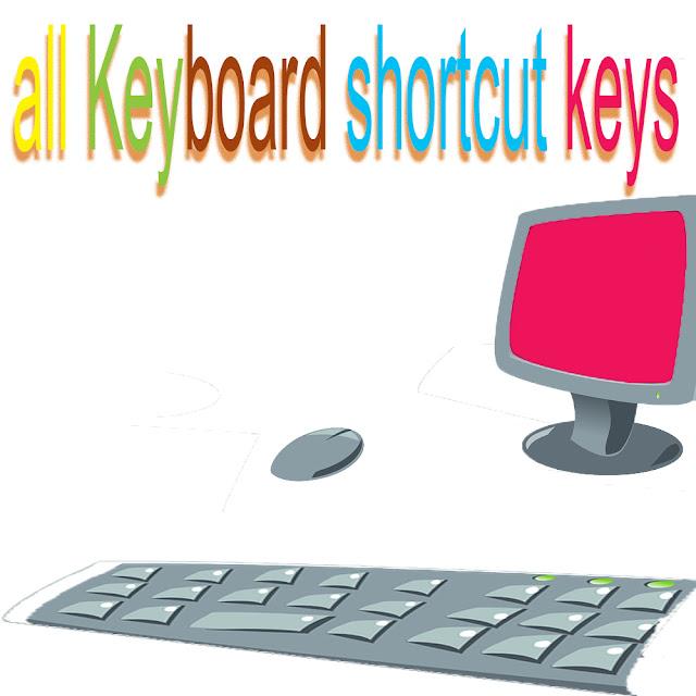 keyboard-shortcut-keys-list