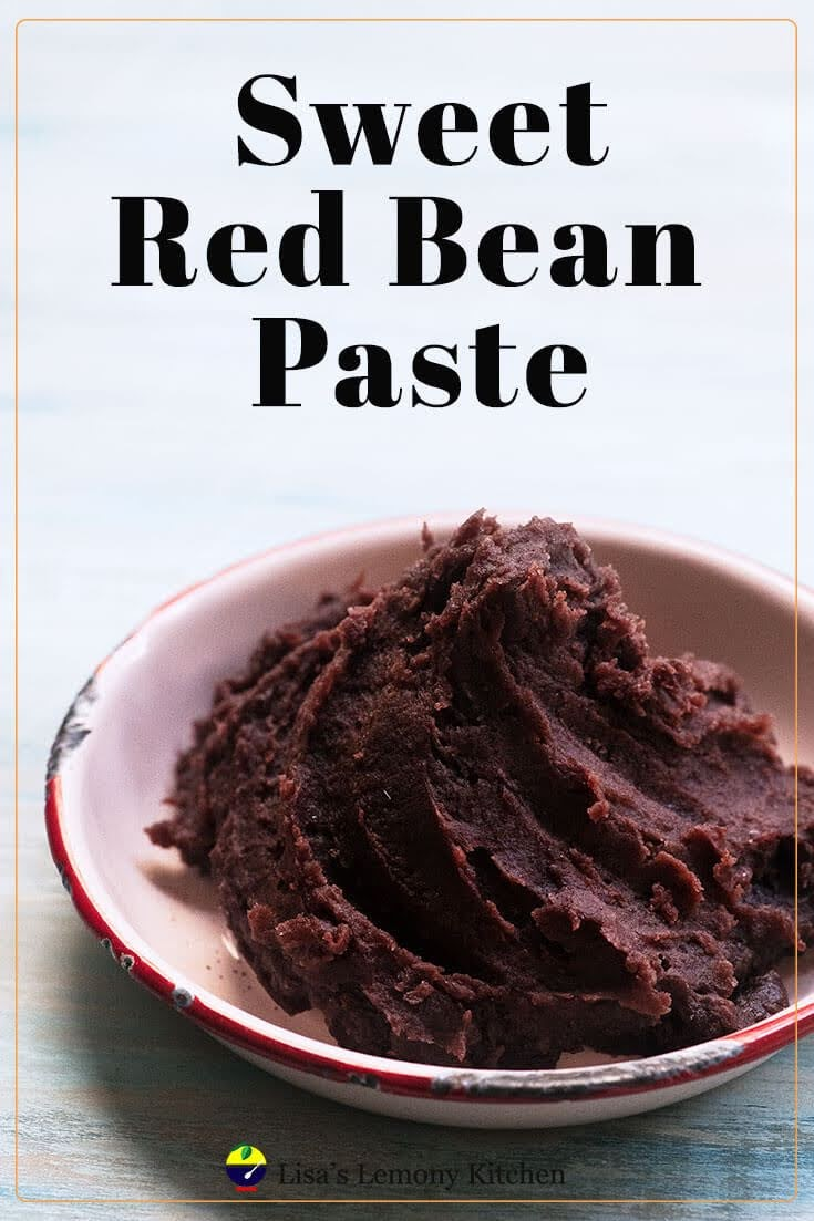 Sweet Red Bean Paste (Anko) is super easy to make from scratch, and its better than the store bought.  Let's learn how to make red bean paste, also known as adzuki beans paste. And I cooked red beans in Instant pot for convenience. This sweet red bean paste is excellent for Japanese dessert, Chinese dessert, as mooncakes' filler, for red bean paste buns or bread and pastries.
