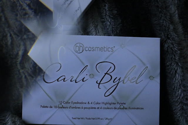 Carli Bybel BH Cosmetics Eyeshadow Highlighter Palette