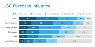 User Generated Content Purchase Influence