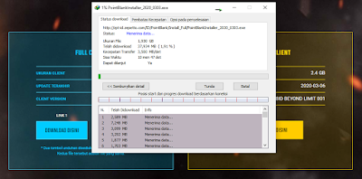 proses download point blank