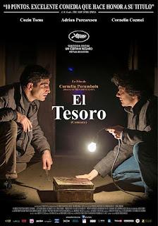 Cartel oficial español: El tesoro (2015)