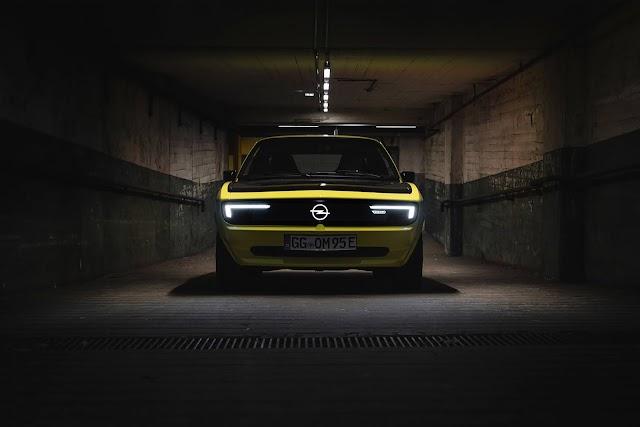 Opel Manta GSe ElektroMOD Hayal gücü, ekip çalışması ve teknolojinin birleşimi