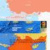 ΠΡΟΣΟΧΗ ΕΚΕΙ ΘΑ ΜΑΣ ΧΤΥΠΗΣΟΥΝ! Η Τουρκία με χάρτη επιβεβαιώνει όσα λέγαμε εδώ και μήνες...!  Όποιος κυριαρχεί στην Μεσόγειο ελέγχει τρεις ηπείρους