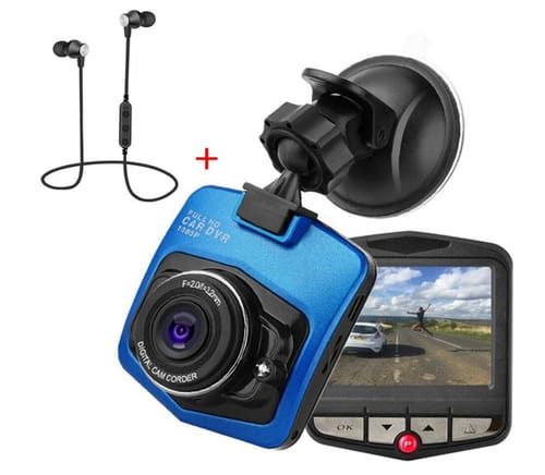 LESHP Full HD Dash Cam Car Driving Recorder