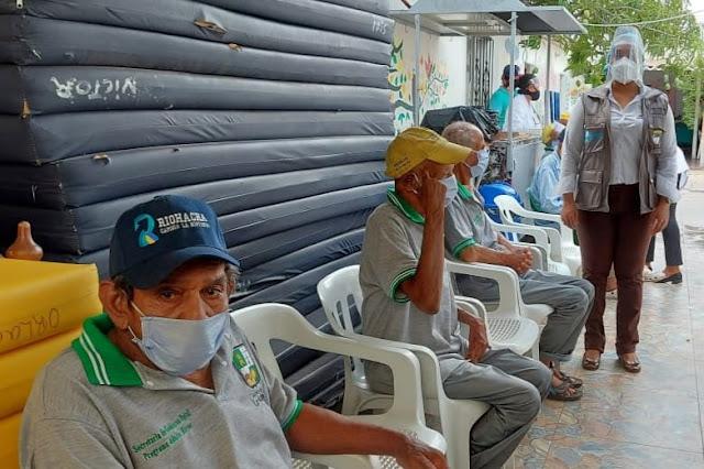 hoyennoticia.com, Jornada de salud en la Casa del Abuelo adelantó la alcaldía de Riohacha
