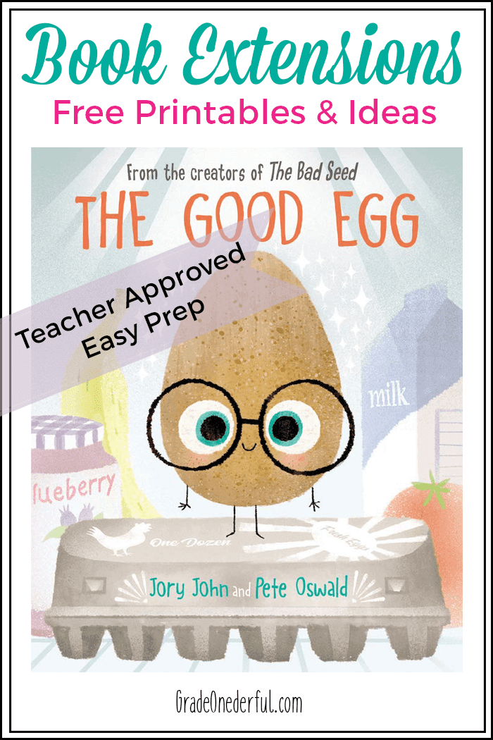 The Good Egg book is a clever and amusing look at the importance of being mindful of our own behavior, and being more accepting of others. With guidance it can be used as a self help book for kids who need some tools to manage their stress. I've included several book-related activities for parents, teachers and homeschoolers.