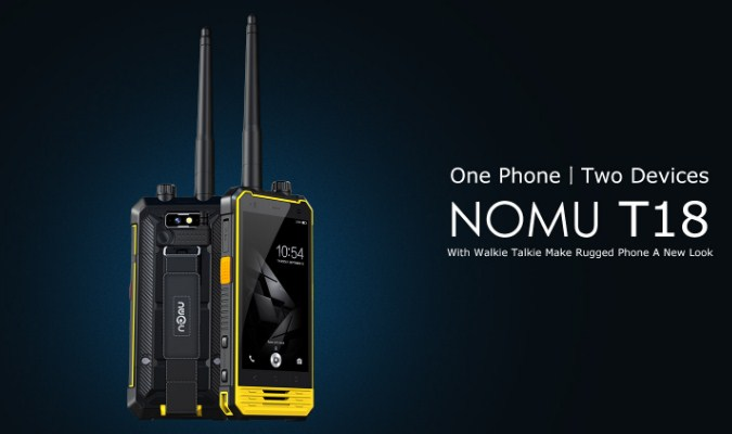 Smartphone Unik Jarang DIketahui - Nomu T18