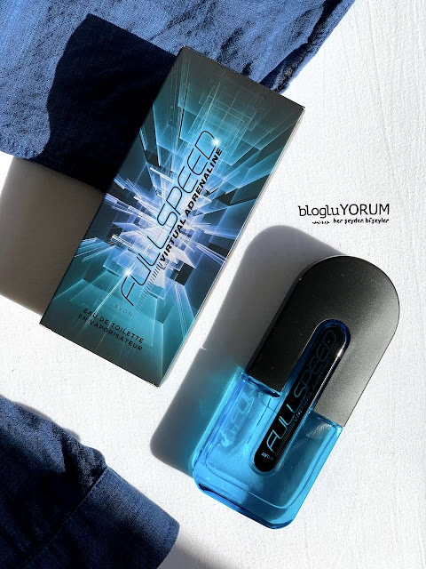 avon full speed virtual adrenaline EDT erkek parfümü