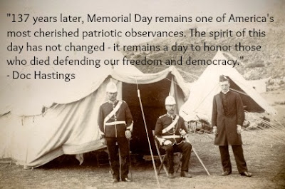 Happy Memorial Day 2016: 137 years later, memorial day remain one of america's most cherished patriotic observances,