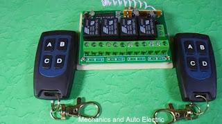 التحكم عن بعد بالأجهزة الكهربائية