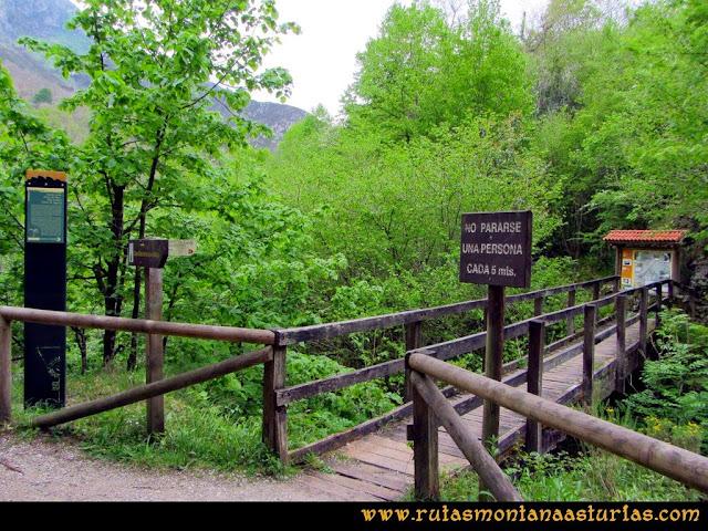 Ruta del Alba: Senda Puente la Vara, San Andrés