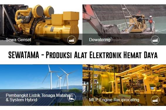 Produksi Alat Elektronik Hemat Daya