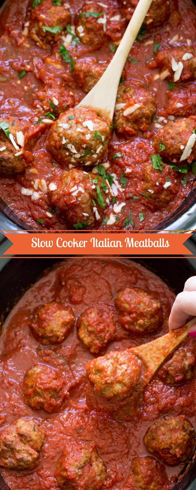 Slow Cooker Italian Meatballs