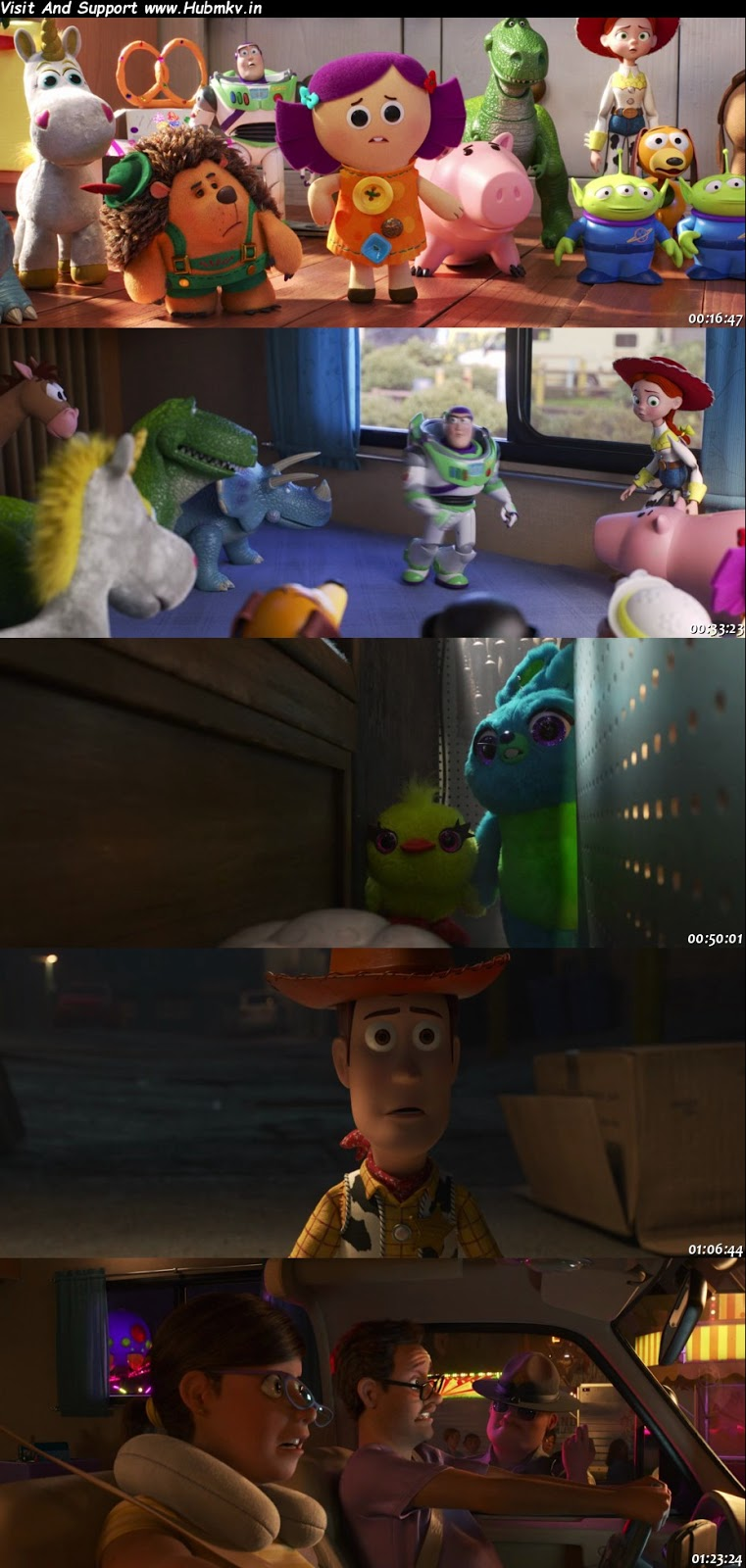 Toy Story 4 (2019) 480p Dual Audio In [Hindi English]