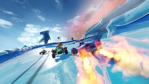 لعبة سونيك 2019 team sonic racing-codex