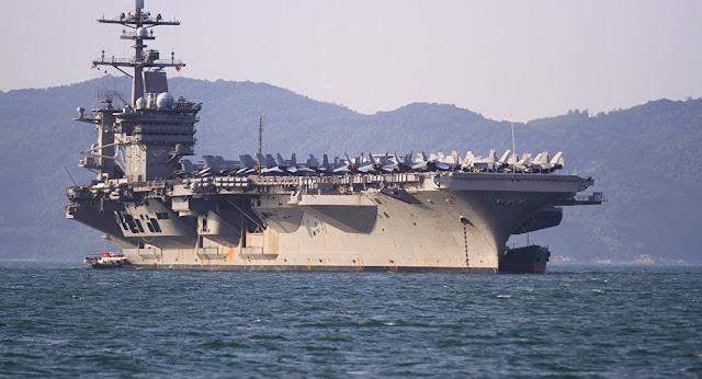الولايات المتحدة ترسل حاملتي طائرات إلى منطقة الخليج