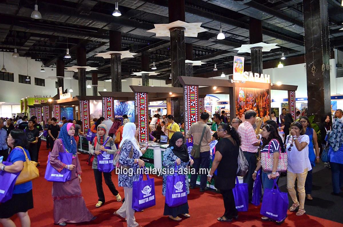 Sabah Tourism Board booths at Matta Fair 2015