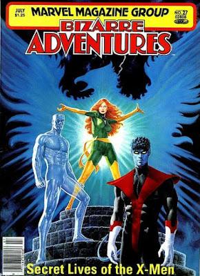 Bizarre Adventures #27, X-Men