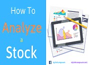 How to Analyze a Stock ?