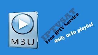 Daily m3u playlists iptv