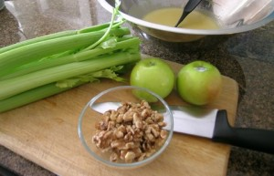 Ingredients For Apple Cellery Salad Recipe