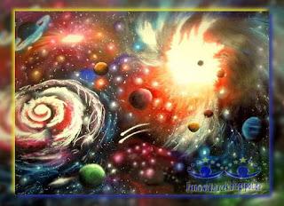 Fantazyjna spirala wszechświata