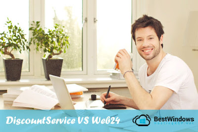 DiscountService.biz vs Web24.com.au : Which Provider is Better for Windows in Australia
