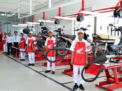 Lowongan Kerja Di Bengkel resmi motor Honda Bandung