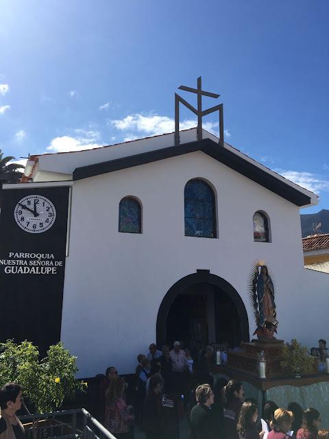Resultado de imagen de parroquia de guadalupe. Los Realejos