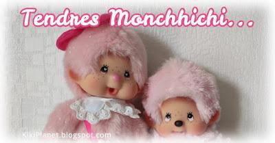 kiki Monchhichi heart eyes love love rare