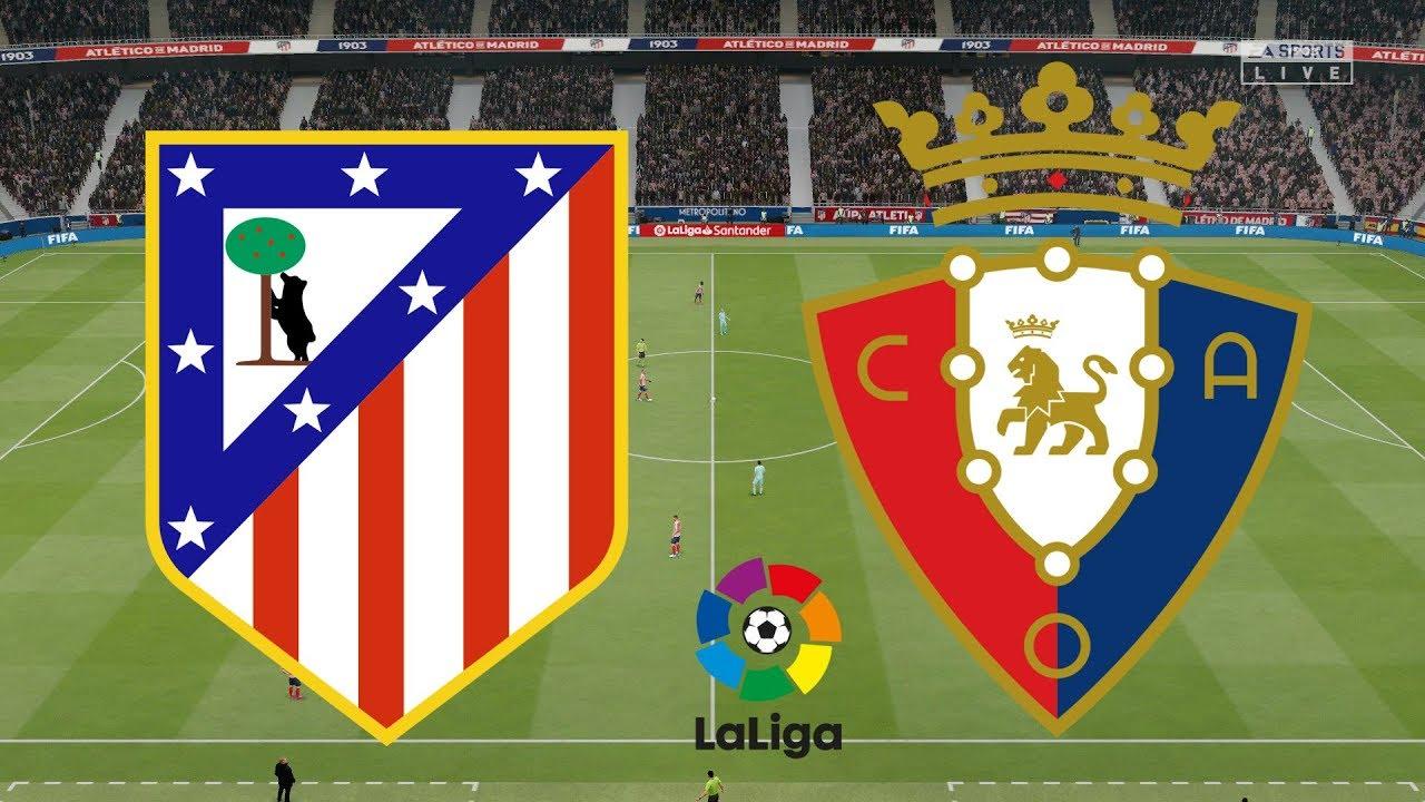 مشاهدة مباراة أتلتيكو مدريد وأوساسونا