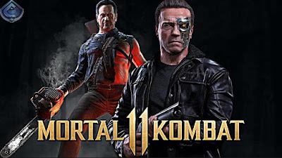 Mortal Kombat 11 Terminator Dlc Leaked Video Games 2019