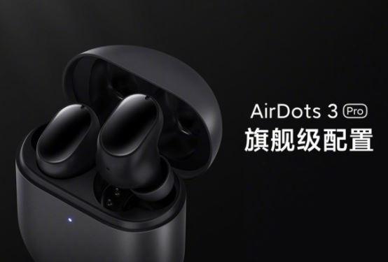 Redmi AirDots 3 Pro revelado com ANC 28 horas de autonomia