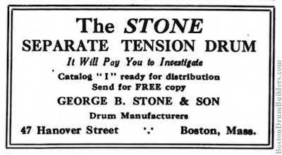 George B. Stone & Son Advertisement, July 1919