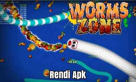 cara main bareng worms zone io