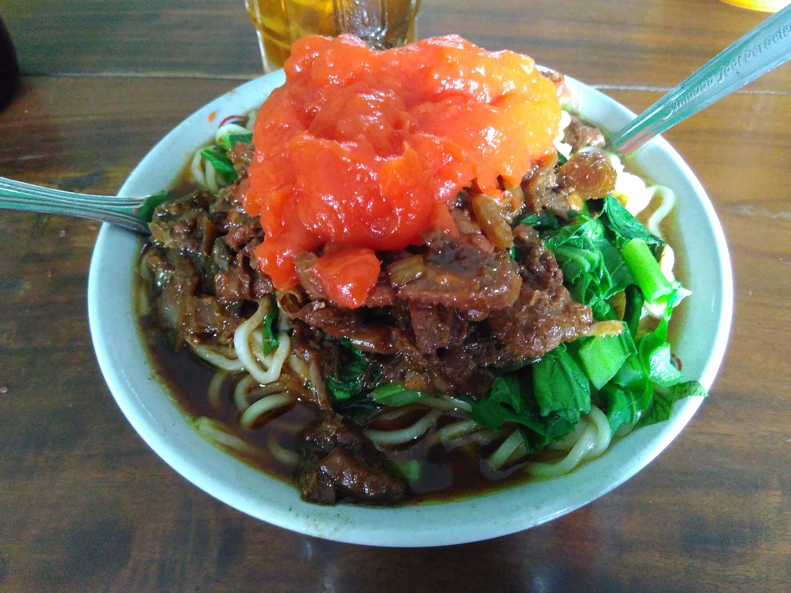 Mie Ayam Pak Muji Depan Pasar Besole Wonosari