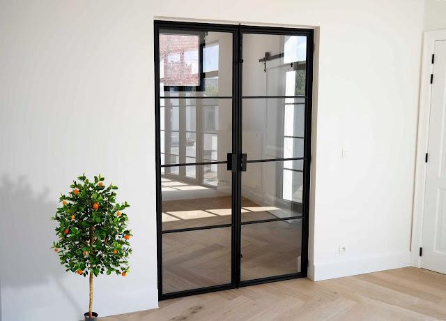 Types of glass loft doors