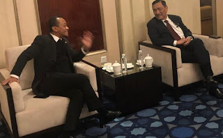 Dapat  Dukungan Dari Menko Luhut  Menteri BUMN Akan Menertibkan Garuda Indonesia